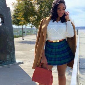 Like new plaid skirt